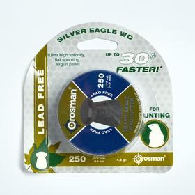 """Пули для пневматики Crosman """"Silver Eagle WC"""" кал. 4,5мм, 0,31гр, 250шт"""