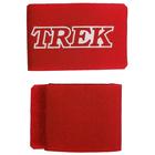 Зажим-липучка для лыж TREK, цвет красный