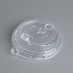 "Крышка для стакана ""Прозрачная"" многофункциональная,  диаметр 80 мм"