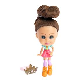 Кукла-сюрприз Polly girl, в шаре, с колечком - фото 7251541
