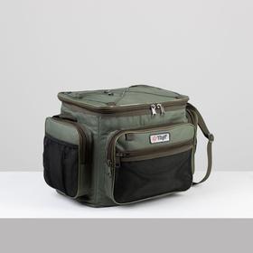 Tourist bag, lightning department, khaki color