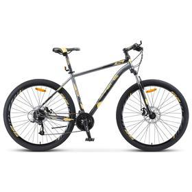 """Велосипед 29"""" Stels Navigator-910 MD, V010, цвет чёрный/золотой, размер 16,5"""""""
