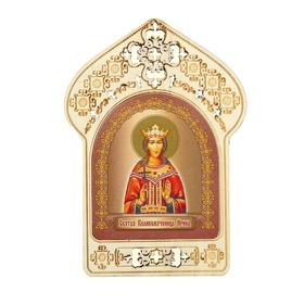 "Registered icon ""Martyr Irene"", patron Irina"