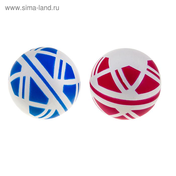 Мяч диаметр 125 мм лакированный в мешке, цвета МИКС