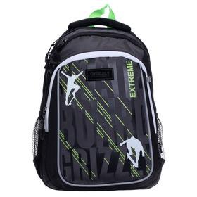 Рюкзак школьный, Grizzly RB-152, 41x27x20 см, эргономичная спинка, отделение для ноутбука