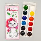 Акварель медовая «Кошечка Мари» Коты-аристократы, 12 цветов, в картонной коробке,без кисти - фото 7252538