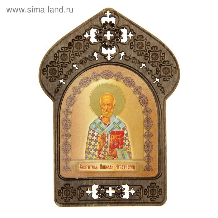 """Именная икона """"Святитель Николай Чудотворец"""", покровительствует Николаям"""