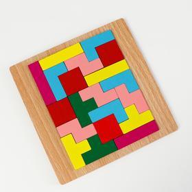 Детская развивающая игра «Рамка вкладыш» 15×15×1 см, МИКС