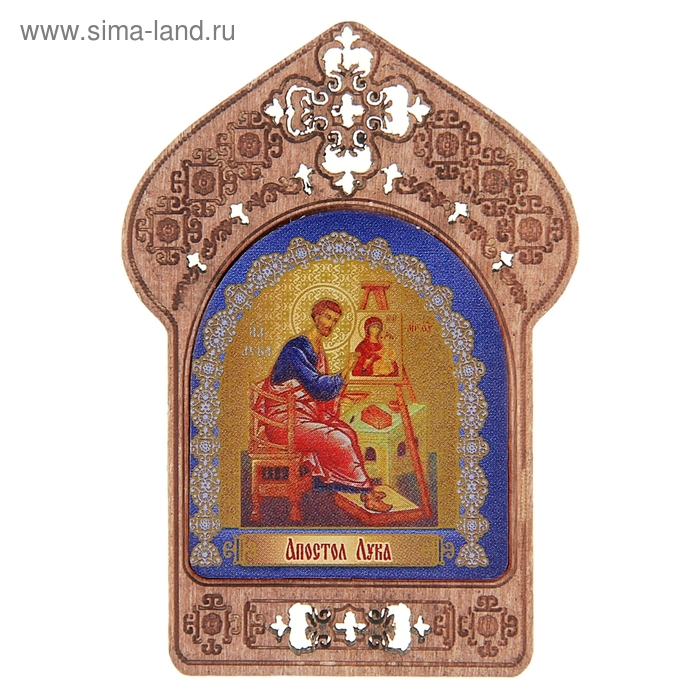 """Икона """"Апостол Лука"""". Помощь и защита художников и дизайнеров"""