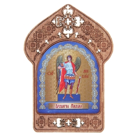 "Icon ""Archangel Michael"". Assistance and protection of soldiers and guards"