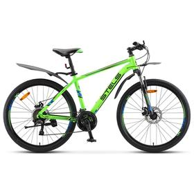 "Велосипед 26"" Stels Navigator-640 MD, V010, цвет зеленый, размер 14,5"""