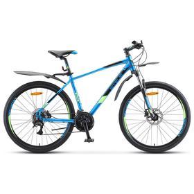 "Велосипед 26"" Stels Navigator-645 D, V020, цвет синий, размер 16"""