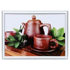 """Картина """"Чайная церемония"""" 25х35(28х38) см"""