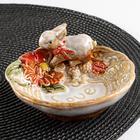 Блюдо сервировочное «Зайка», 12,5×12,5×7 см - фото 728007