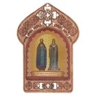 "Icon of ""St. Alexander and Euthymius"". Assistance and protection of workers in the sphere of real estate"