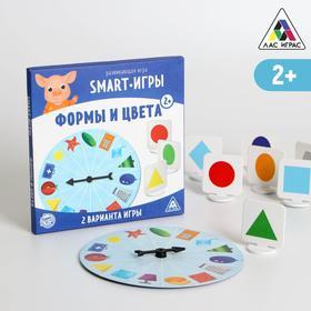 Развивающая игра «Smart-игры. Формы и цвета», 2+