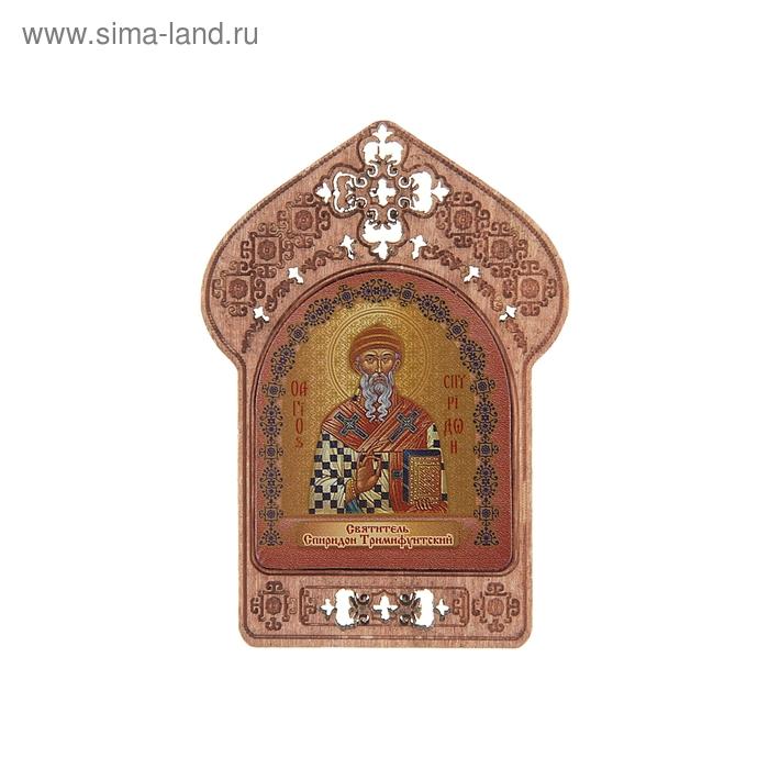 """Икона """"Святитель Спиридон Тримифунтский"""". Помощь и защита энергетиков"""