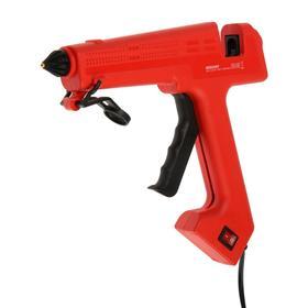 Клеевой пистолет REXANT 12-0119, 280 Вт, d=11 мм, 190 °С, ударопрочный пластик, выключатель