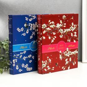 """Фотоальбом на 400 фото 10х15 см """"Сакура"""" в коробке МИКС 33,5х27,5х5,5 см - фото 7293001"""