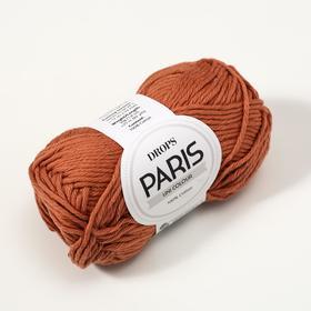 "Пряжа ""Paris"" 100% хлопок 75м/50гр (65 ржавчина) - фото 7294219"