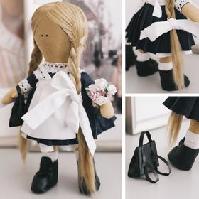 Интерьерная кукла «Школьница Николь», набор для шитья 15,6 × 22.4 × 5.2 см