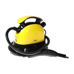 Пароочиститель VLK Sorento 8200, 1800 Вт, 1.2 л, 4 бар, шланг 1,1 м, 40 г/мин, черно-желтый