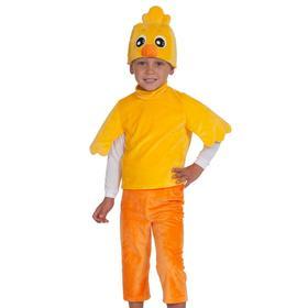 Карнавальный костюм «Цыплёнок», серия «Ми-ми-мишки», 4-5 лет, р. 28-30, рост 104-110 см