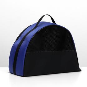 Сумка-переноска средняя 39 х 19 х 27 см, оксфорд, синяя