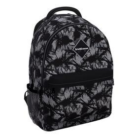 Рюкзак молодежный Erich Krause EasyLine 44*33*23 20L Thistle, серый/чёрный 48609