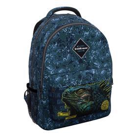 Рюкзак молодежный Erich Krause EasyLine 44*33*23 мал 20L Iguana, синий 48608