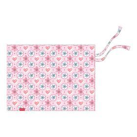 Накладка на стол текстильная водоотталкивающая (складная) А3, 450 х 330 мм, Pink Flowers