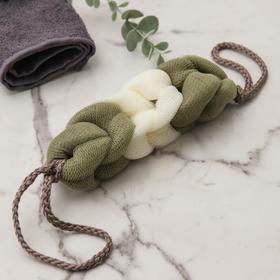 Мочалка для тела Доляна «Колосок», 40 гр, цвет МИКС