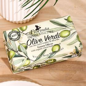 Мыло Florinda Olive Oil / Оливковое масло (органик) 200 г - фото 7321757