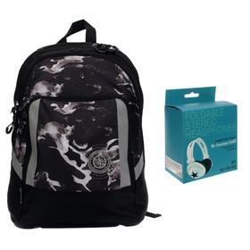 Рюкзак молодёжный Seventeen, 41 x 32 x 17 см, эргономичная спинка, EVA-спинка
