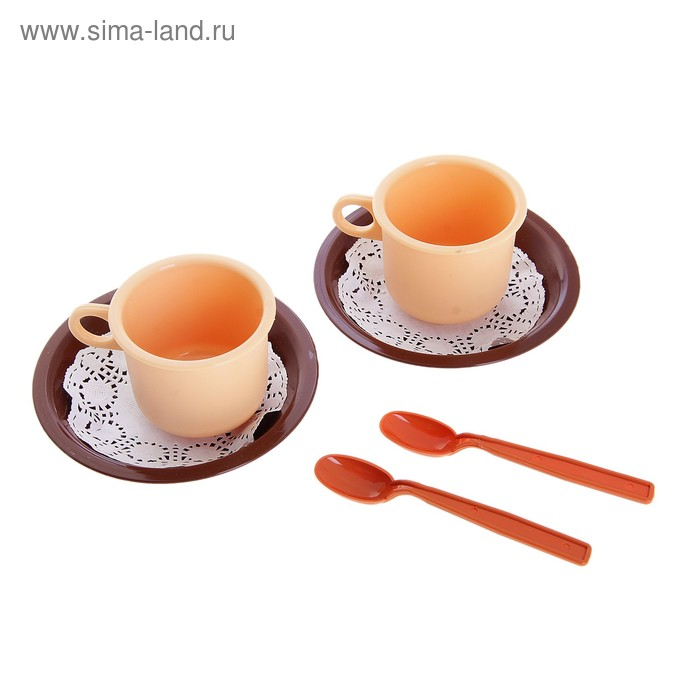 """Чайная пара """"Милк"""" 6 предметов"""