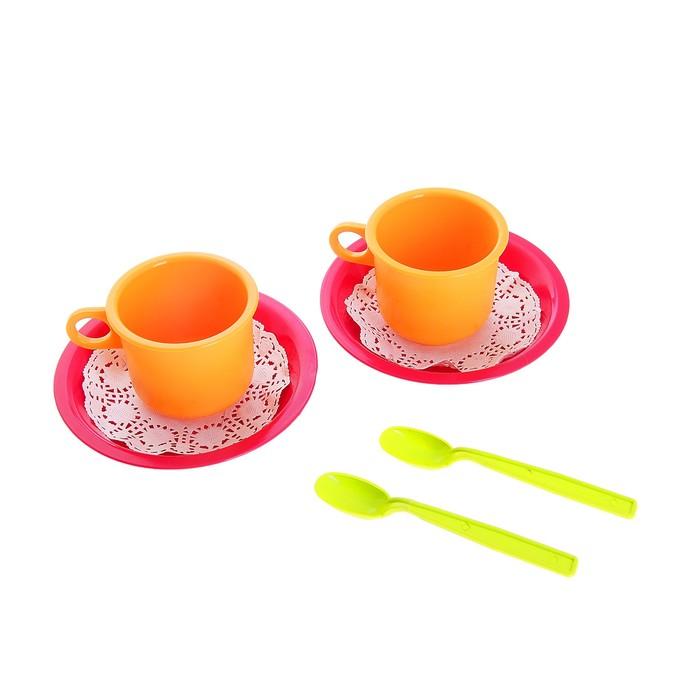 """Чайная пара """"Розе"""" 6 предметов"""