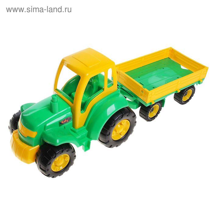 """Трактор с прицепом """"Чемпион"""""""