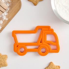Форма для печенья и пряников Леденцовая фабрика «Грузовик», 11,5×7,5×1,5 см