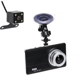 Видеорегистратор Cartage, 2 камеры, WDR  HD 1080P, TFT 4.5, обзор 160°
