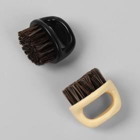 Brush-machine for removing hair 6,5 * 6 (± 1) cm plastic package QF
