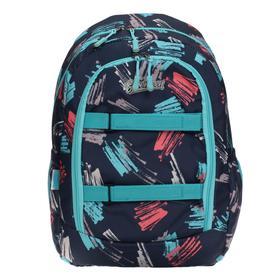 Рюкзак молодежный с эргономичной спинкой Seventeen, 45 х 30 х 17, для девочки
