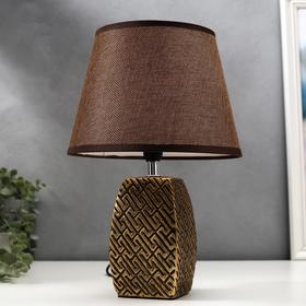Bulb desktop 16444 / 1B E14 40W bronze 22x22x34 cm