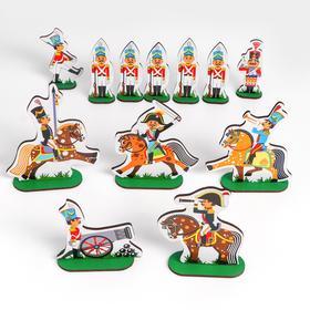Игровой набор солдат «Щелкунчик», 12 героев, 24 предмета