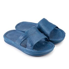 Children's sliders, blue color, size 29-30