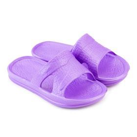 Сланцы детские «СТЭП» цвет фиолетовый, размер 25-26