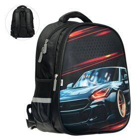 Рюкзак каркасный Calligrata Speed car 39х30х14 см