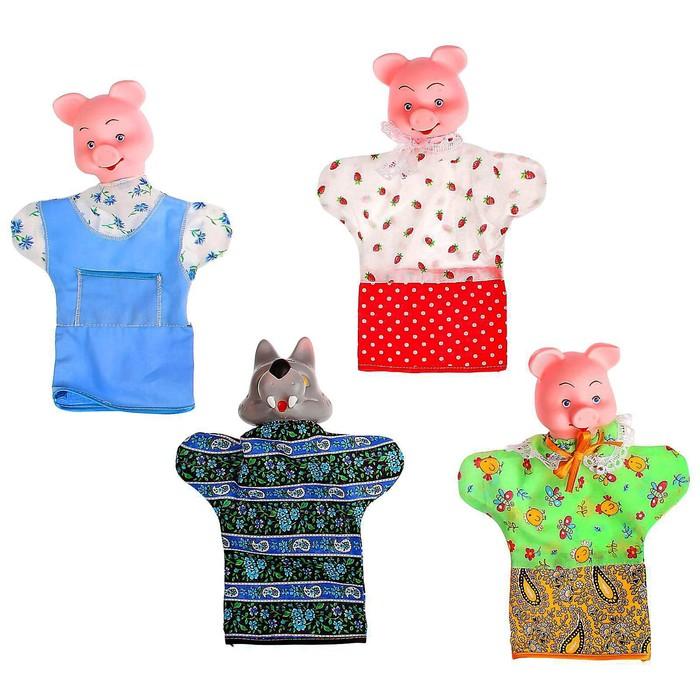 Кукольный театр «Три поросёнка»