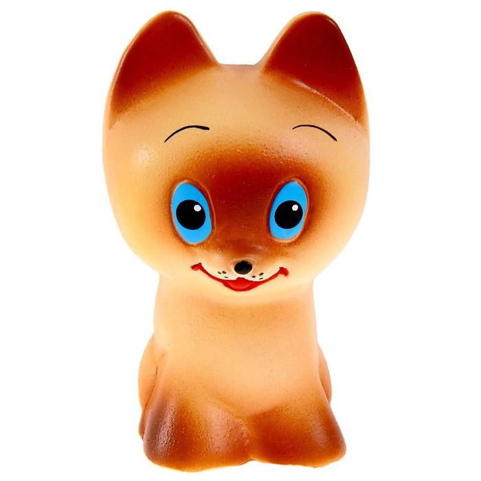Резиновая игрушка «Котёнок Тошка», МИКС