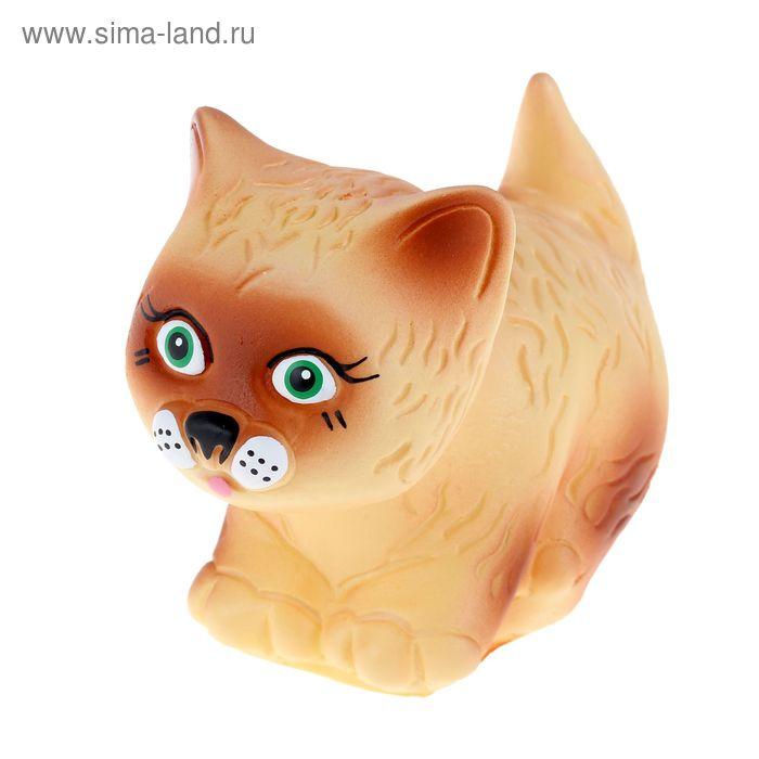"""Резиновая игрушка """"Котик-Мурзик"""""""