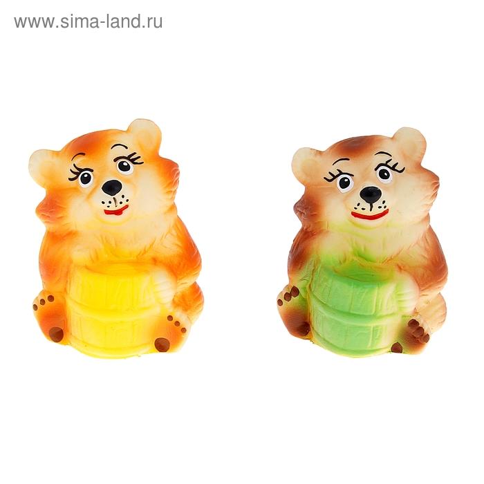 """Резиновая игрушка """"Медвежонок"""", МИКС"""